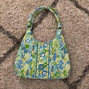 Vera Bradley Blue & Green Pattern Bag Purse